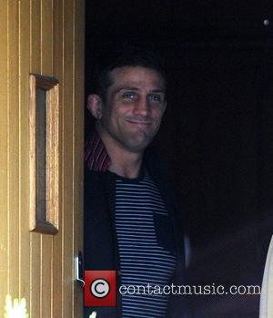 Alex Reid leaving his house following the birth of his daughter on Sunday  Essex, England - 19.06.12
