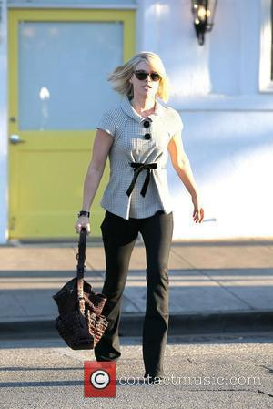 Ali Larter  leaving Byron and Tracey Hair Salon in Beverly Hills Los Angeles, California - 13.01.12