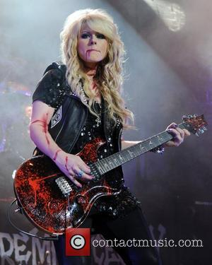 Orianthi Alice Cooper performs live during the final night of his No More Mister Nice Guy 2011 World Tour at...