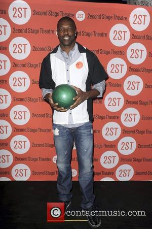 Terrell Owens  attends the Second Stage Theatre's 25th Annual All-Star Bowling Classic at Lucky Strike Lanes & Lounge...