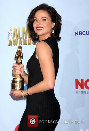 Lana Parrilla and Alma Awards