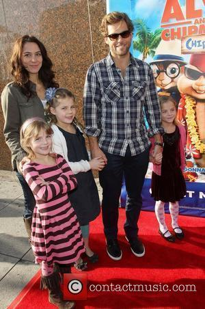 Jamie Bamber and his Family The Twentieth Century Fox Home Entertainment's Alvin And The Chipmunks: Chipwrecked Blu-ray and DVD Release...