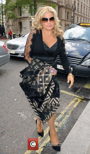 Jennifer Coolidge promoting her new film 'American Reunion' at various venues around town. London, England - 17.04.12