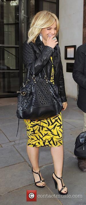 Mena Suvari promoting her new film 'American Reunion' at various venues around town. London, England - 17.04.12