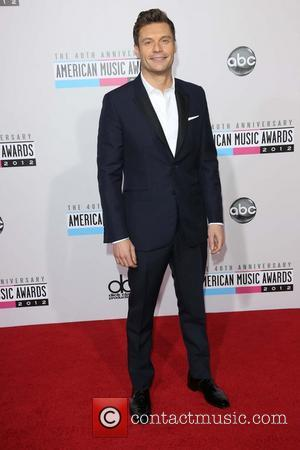 Ryan Seacrest  The 40th Anniversary American Music Awards 2012, held at Nokia Theatre L.A. Live - Arrivals Los Angeles...