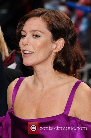 Anna Friel Does 'Angelina Leg Bare' At Spider-man Premiere