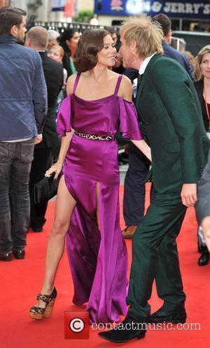 Rhys Ifans and Anna Friel The Amazing Spider-Man Gala Premiere held at the  Odeon, Leicester Square - Arrivals. London,...