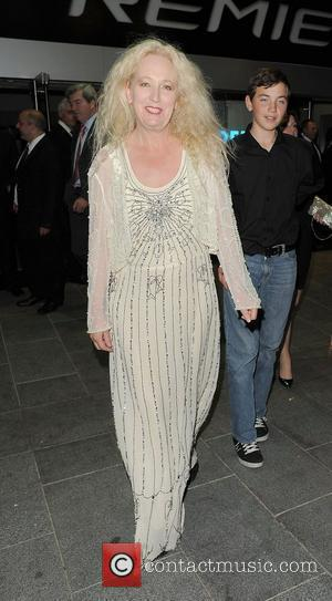 Debbie Douglas leaving the premiere of The Amazing Spider-Man, held at Odeon Leicester Square. London, England - 18.06.12