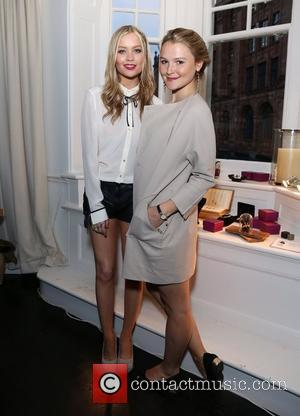 Amber Atheron and Laura Whitmore Amber Atheron hosts a dinner to showcase her jewellery collection with designer Catherine Zoraida held...