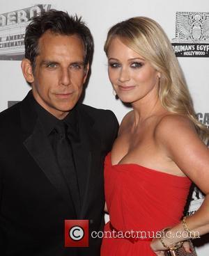 Ben Stiller, Christine Taylor 26th American Cinematheque Award Gala honoring Ben Stiller at The Beverly Hilton Hotel Los Angeles, California...