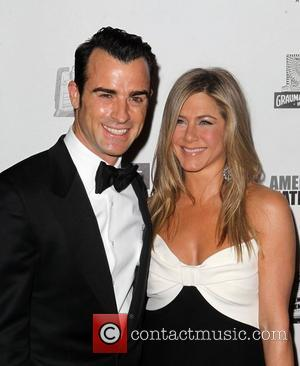 Justin Theroux, Jennifer Aniston 26th American Cinematheque Award Gala honoring Ben Stiller at The Beverly Hilton Hotel Los Angeles, California...