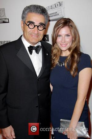 Eugene Levy and Sarah Levy