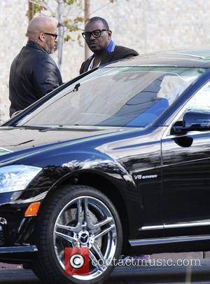 Randy Jackson arriving to film an episode of 'American Idol' during the show's Hollywood week Los Angeles, California - 13.12.12