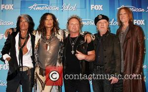 Joe Perry, Aerosmith and Steven Tyler