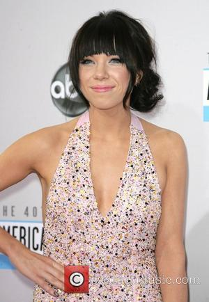 Carly Rae Jepsen at the AMAs