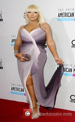 Christina Aguilera The 40th Anniversary American Music Awards 2012, held at Nokia Theatre L.A. Live - Arrivals Los Angeles, California...