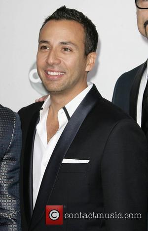 Howie Dorough of Backstreet Boys The 40th Anniversary American Music Awards 2012, held at Nokia Theatre L.A. Live - Arrivals...