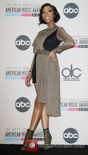 Brandy he 40th Anniversary American Music Awards 2012, held at Nokia Theatre L.A. Live - Pressroom Los Angeles, California -...