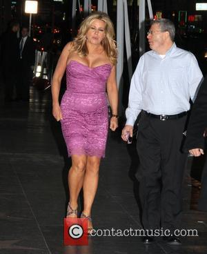 Jennifer Coolidge arrives at the after party for 'American Reunion' Los Angeles, California - 19.03.12