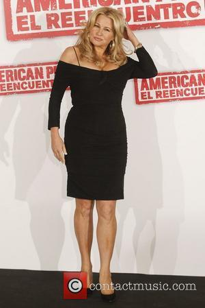 Actress Jennifer Coolidge  The cast of the new movie 'American Reunion' attend a photocall held at the Villamagna Hotel...