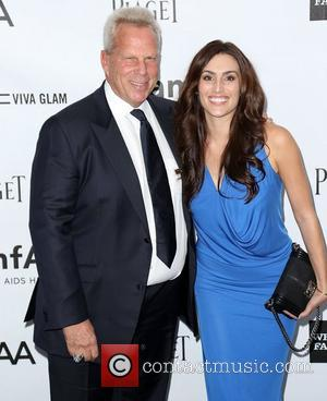 Steve Tisch and guest amfAR 3rd Annual Inspiration Gala at Milk Studios Los Angeles, California - 11.10.12