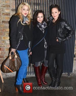 Jennifer Blanc, Danielle Harris and Alyssa Lobit