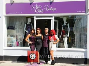 Lizzie Cundy and Amy Childs