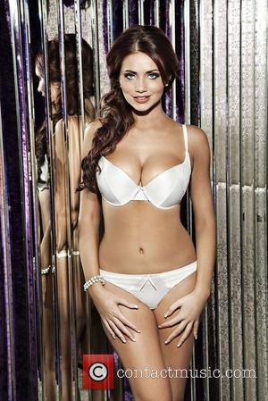 Amy Childs modelling Ultimo's Bra Queen range for Tesco UK - March 2012 This is a PR photo. WENN does...