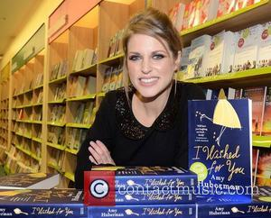 Amy Huberman signs copies of her new book entitled 'I Wished For You' at Easons in Dundrum town centre Dublin,...
