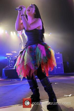 Amy Lee of Evanescence performing at the Seminole Hard Rock Hotel and Casinos' Hard Rock Live  Hollywood, Florida -...