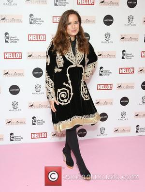 Jade Jagger The Amy Winehouse foundation ball held at the Dorchester hotel - Arrivals London, England - 20.11.12