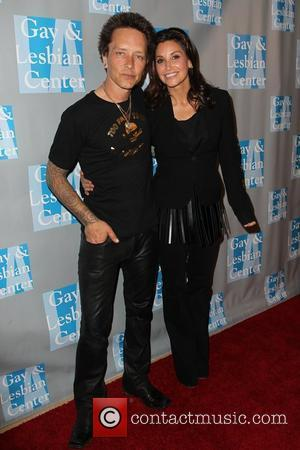 Billy Morrison, Gina Gershon The L.A. Gay & Lesbian Center's 'An Evening With Women' at The Beverly Hilton Hotel -...