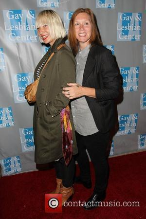 Sia, Patty Schemel The L.A. Gay & Lesbian Center's 'An Evening With Women' at The Beverly Hilton Hotel - Arrivals...
