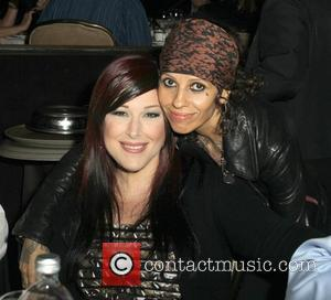 Linda Perry, Carnie Wilson and Beverly Hilton Hotel