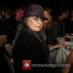 Roseanne Barr and Beverly Hilton Hotel