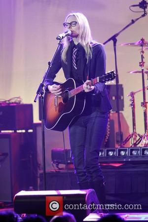 Aimee Mann, Linda Perry and Beverly Hilton Hotel