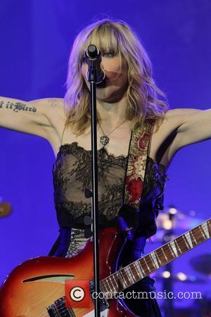Courtney Love and Beverly Hilton Hotel