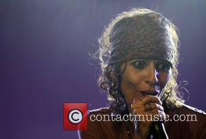 Linda Perry and Beverly Hilton Hotel
