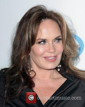 Catherine Bach and Beverly Hilton Hotel