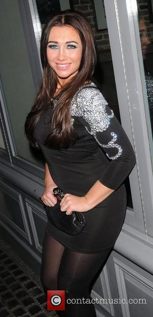 Lauren Goodger leaves Anaya club in Mayfair London, England - 02.02.12