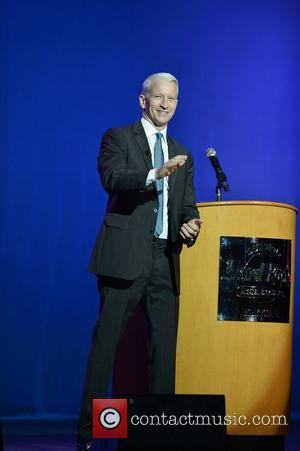 CNN anchor Anderson Cooper speaking at Hard Rock Live! in the Seminole Hard Rock Hotel & Casino Hollywood, Florida -...