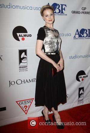 Evan Rachel Wood and Beverly Hilton Hotel