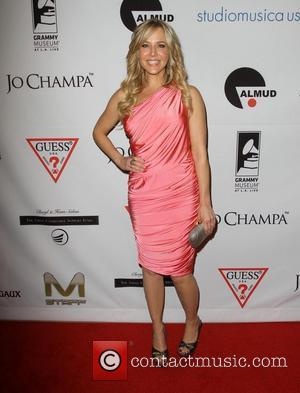 Julie Benz and Beverly Hilton Hotel
