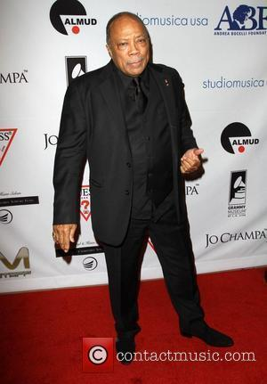 Quincy Jones Andrea Bocelli Launches The Andrea Bocelli Foundation Gala Held At Beverly Hilton Hotel Beverly Hills California 9/12/11