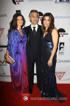 Andrea Bocelli, Jo Champa and Beverly Hilton Hotel