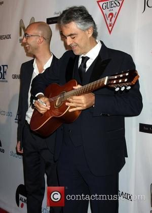 Andrea Bocelli Financing Technology To Help The Blind