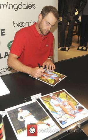 Andy Roddick  Bloomingdale's 59th St. Welcomes LACOSTE Tennis Champion Andy Roddick  New York City, USA - 30.11.11