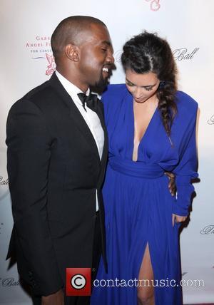 Kim Kardashian, Kanye West and The Angel Ball