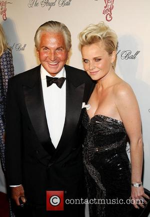 George Hamilton and Guest attend the Angel Ball 2012 at Cirpiani Wall Street New York City, USA - 22.10.12