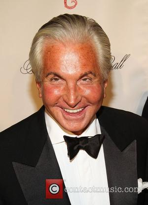 George Hamilton attend the Angel Ball 2012 at Cirpiani Wall Street New York City, USA - 22.10.12